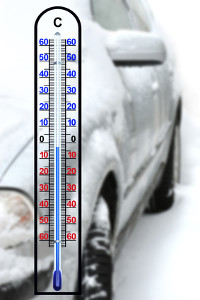 Diesel freezes at minus temperatures