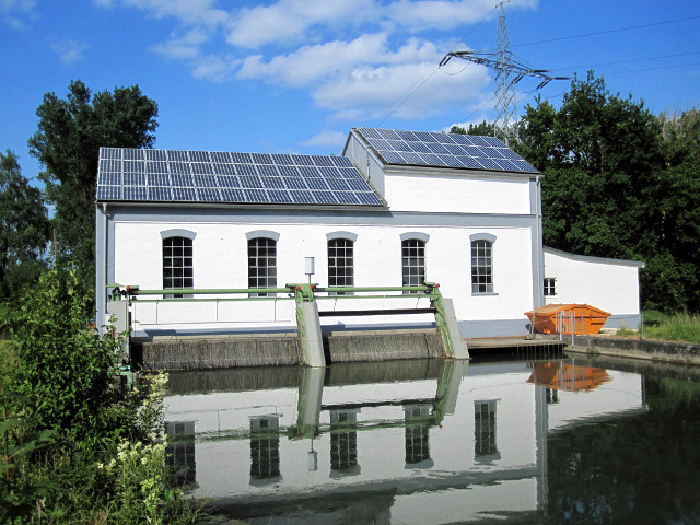 ATG Hydroelectric power plant 250 kW in Gundelfingen